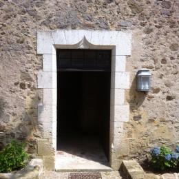 Création d'une porte ancienne