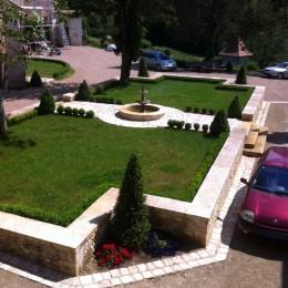 restauration muret de jardin