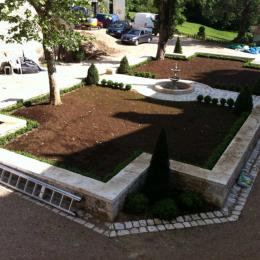 Rénovation d'une cour
