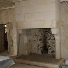 Restauration d'une cheminée après