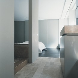 Revêtement de sol en pierre naturelle Pouillenay pour salle de bain