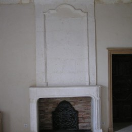renovation of an ancient fireplace